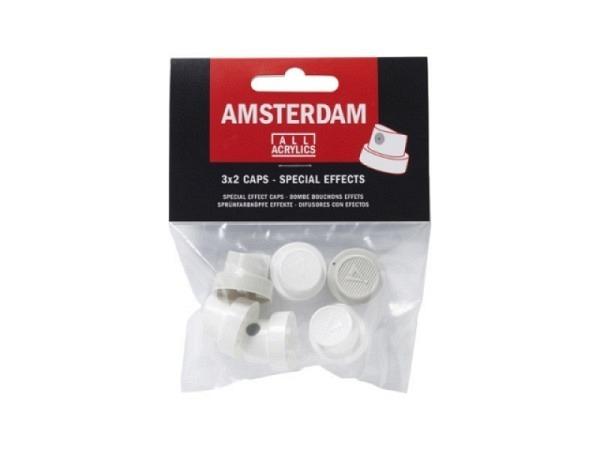 Spray Talens Amsterdam Ersatzsprühköpfe, 6Stk, Effekte
