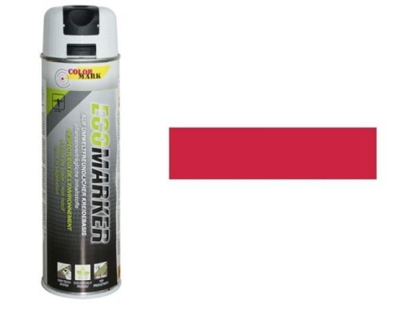 Spray Dupli Kreidemarker rot 500ml kurzfrist. Kennzeichnung