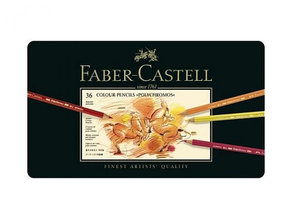 Farbstift Faber-Castell Polychromos 36er Metalletui
