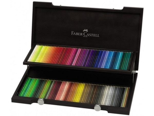 Farbstift Faber-Castell Polychromos 120er Holzkoffer