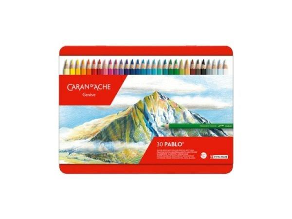 Farbstift Caran dAche Pablo 30er Metalletui