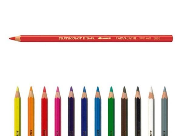 Farbstift Caran dAche Supracolor Purpurviolett 100