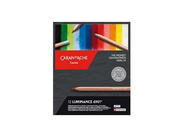 Farbstift Caran dAche Luminance 6901 Set 12Stk.