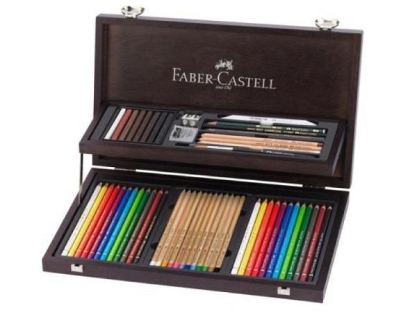Farbstift Faber-Castell 126er Holzkoffer