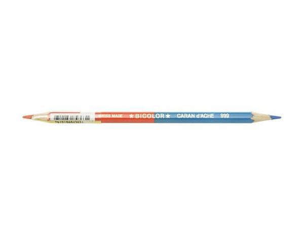 Farbstift Caran dAche Bicolor blau/rot D:3mm 999.300