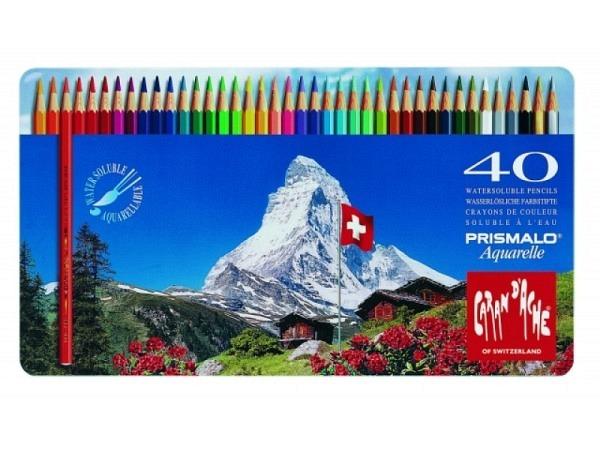 Farbstift Caran dAche Prismalo 40er Metalletui