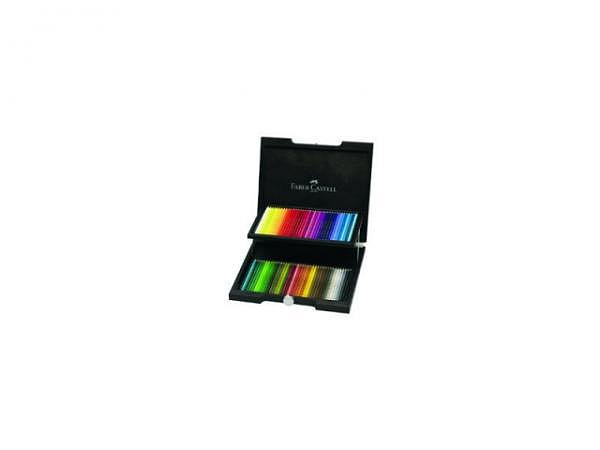 Farbstift Faber-Castell Polychromos 72er Holzkoffer