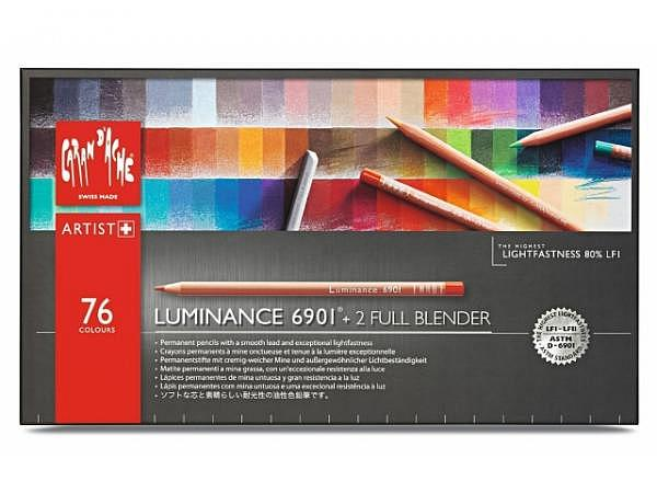 Farbstift Caran dAche Luminance 6901 Set 76Stk.