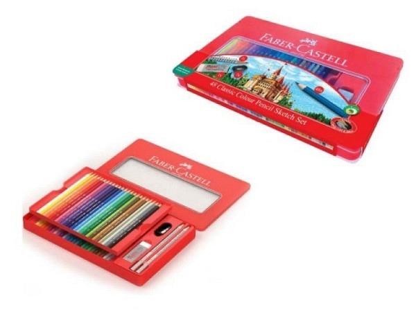 Farbstift Faber-Castell Classic Colour Pencils 48er