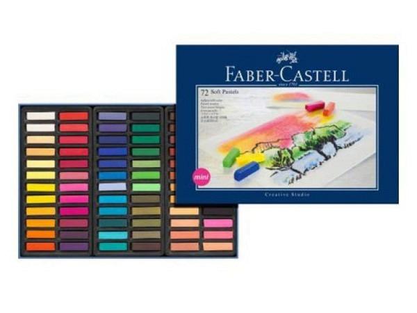 Pastellkreide Faber Castell Softpastell mini 72er Set