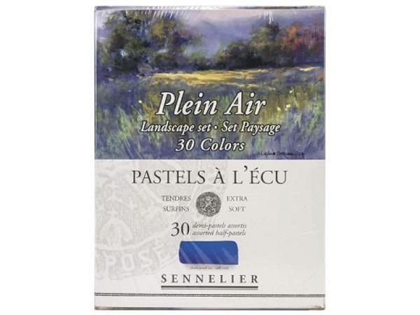 Pastell Sennelier Plain Air 30er Set Lands. 30 1/2 Kr. Etui