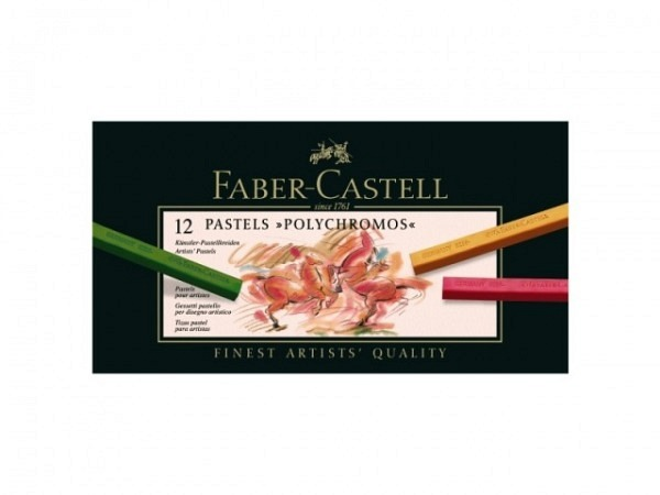 Pastellkreide Faber-Castell Polychromos 12er Set