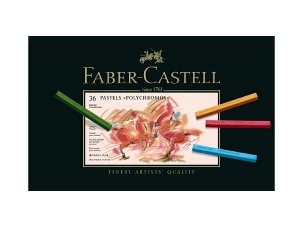 Pastellkreide Faber-Castell Polychromos 36er Set