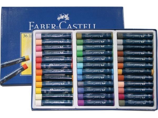 Oelpastellkreiden Faber-Castell 36er Set, im Kartonetui