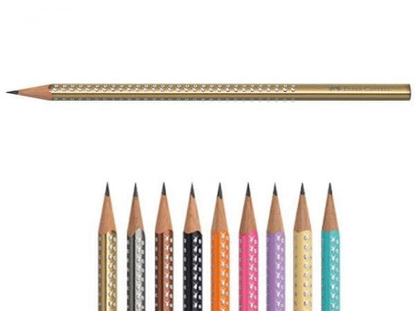 Bleistift Faber-Castell Grip Sparkle