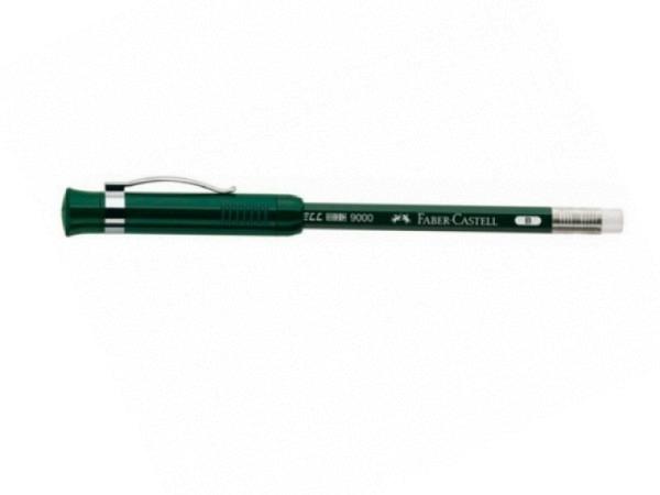 Bleistift Faber-Castell 9000 perfekt Spitzer grün Radierer