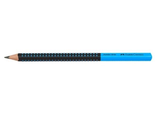 Bleistift Faber-Castell Grip 2001 B 3er Set blau