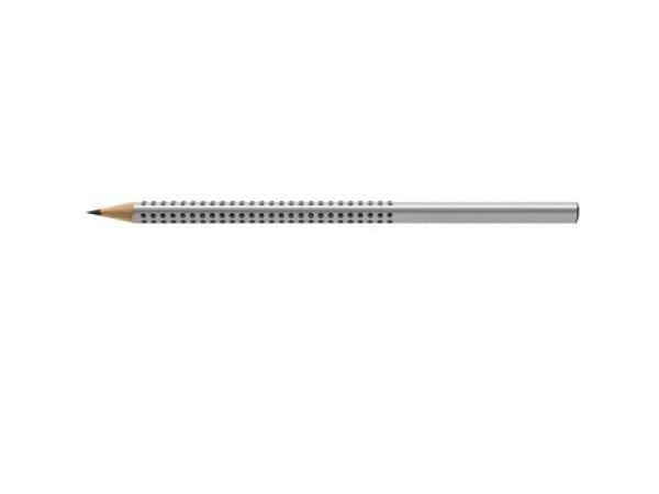 Bleistift Faber-Castell Grip 2001 HB grau