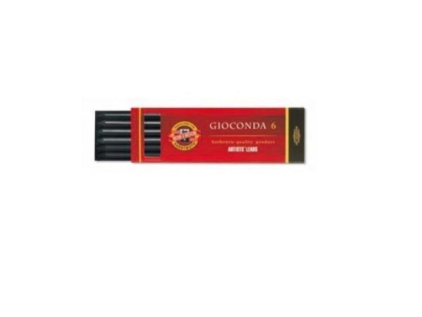 Mine Kohinoor 5,6mm Reisskohle 8673 weich 12cm