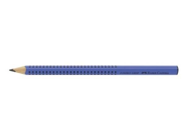 Bleistift Faber-Castell Jumbo Grip B hellgrün oder blau