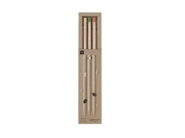 Bleistift Faber-Castell Grip 2001 Set grün, B