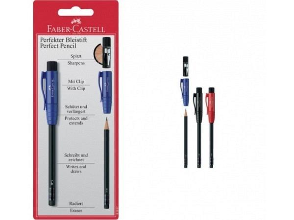 Bleistift Faber-Castell perfekter Bleistift II assortiert