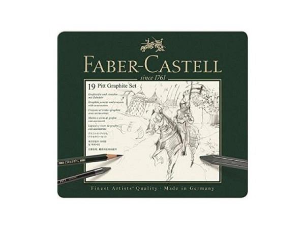 Zeichenstift Faber-Castell Pitt Graphite Set 19tlg