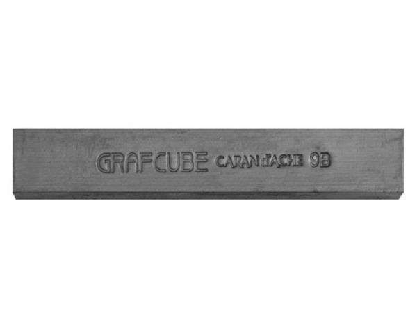 Bleistift Caran dAche Grafstone 782 9B, runder Schaft
