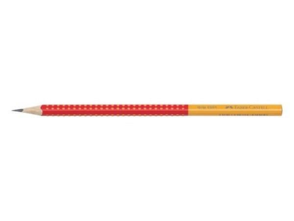 Bleistift Faber-Castell Grip 2001 B schwarz