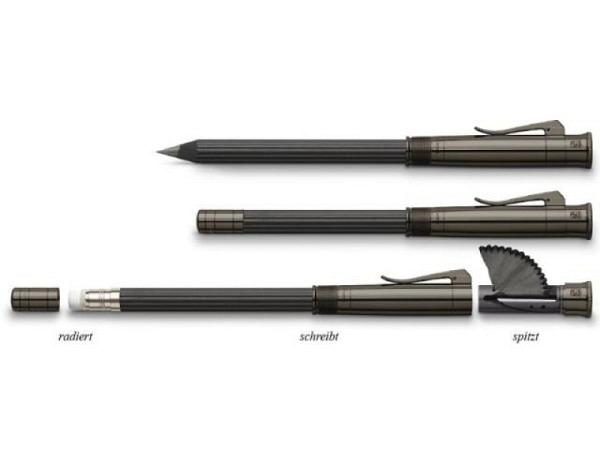 Bleistift Graf von Faber-Castell perfekter Bleistift Magnum schwarz