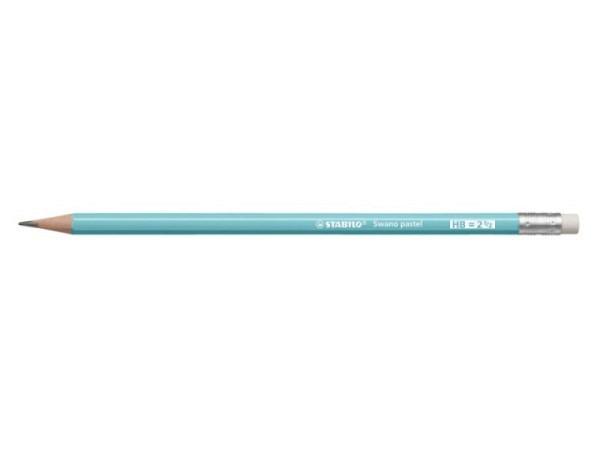 Bleistift Stabilo Swano Pastell Edition hellblau HB
