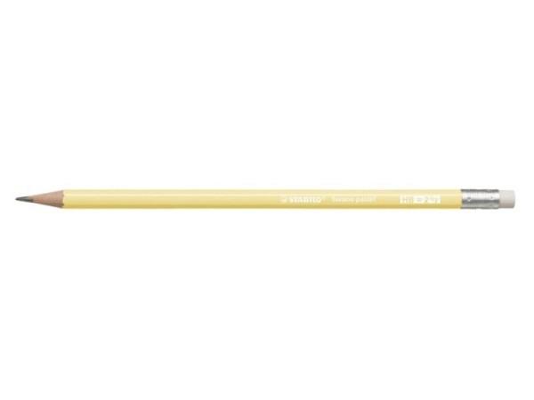 Bleistift Stabilo Swano Pastell Edition gelb HB