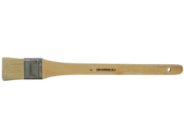 Pinsel Ziegenhaar flach breit 25mm Grösse 1