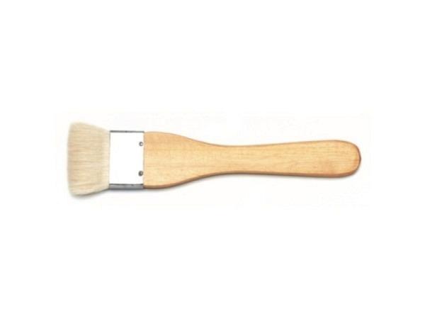 Pinsel Ziegenhaar flach breit 38mm Grösse 1 1/2
