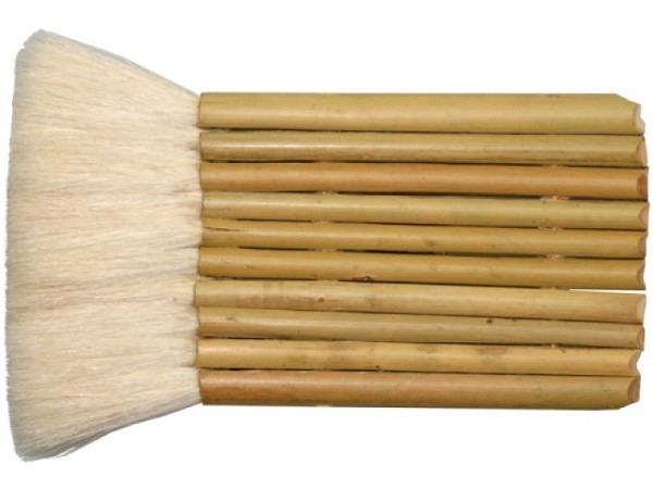 Pinsel Panflöte 6fach 60mm breit