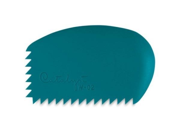 Gummipinsel Catalyst Wedge 02 blau aus Silikon