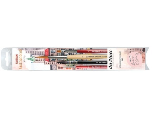 Pinsel da Vinci Urban Watercolor Journey Set May und Berry