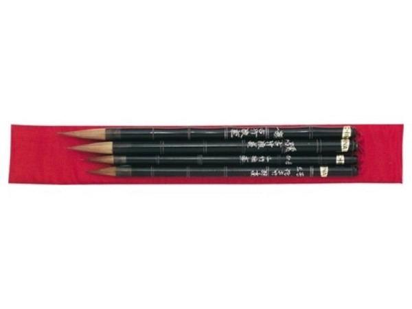 Pinsel China Nr. 1 Ru-Yi, gemischte Tierhaare, Bambus-Stiel