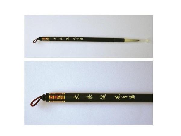 Pinsel China Da Chang Lau, gemischte Tierhaare, Bambus-Stiel