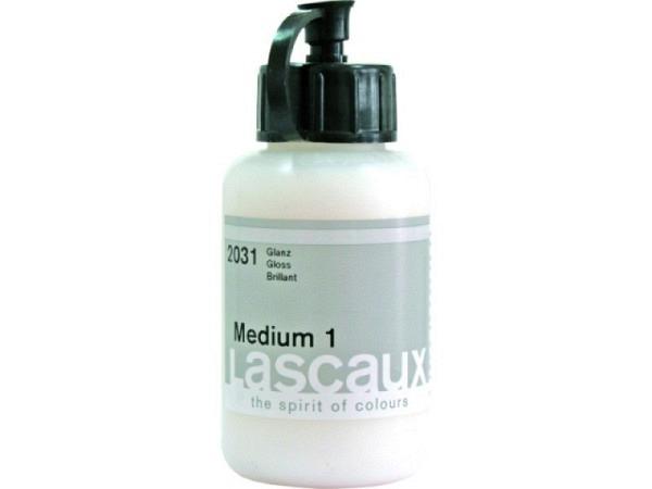 Malmittel Lascaux Medium 1 glanz 250ml für Akryl