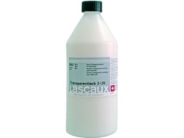 Lack Lascaux transparent UV matt 1l Transparentlack 2 2063