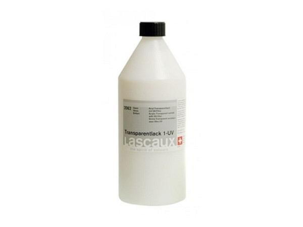 Lack Lascaux Transparentlack 1-UV 2062 glanz 1 Liter