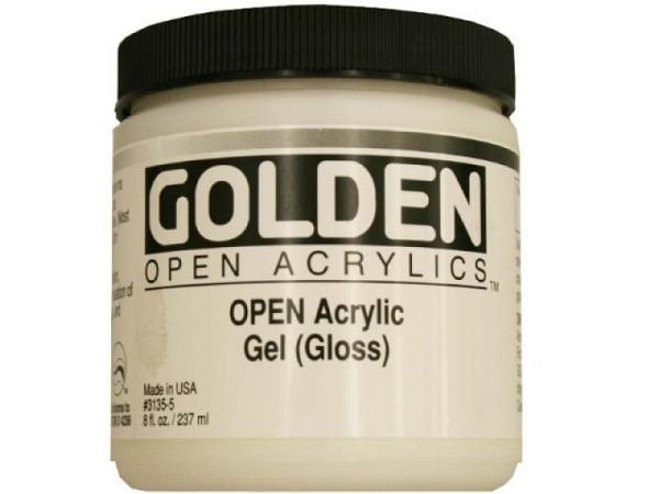 Malmittel Golden Open Gel Gloss Dose 237ml