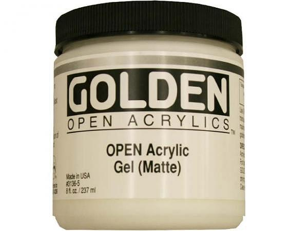 Malmittel Golden Open Gel Matte Dose 237ml