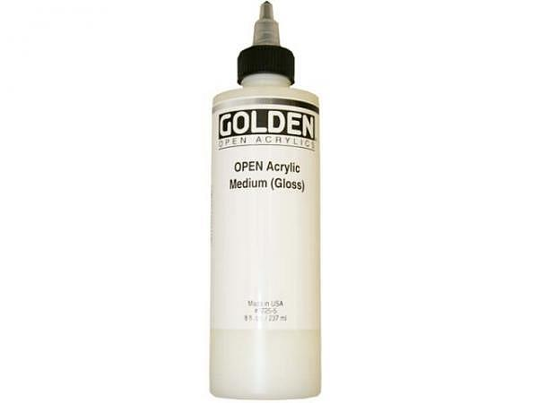 Malmittel Golden Open Medium (Gloss) Flasche 237ml