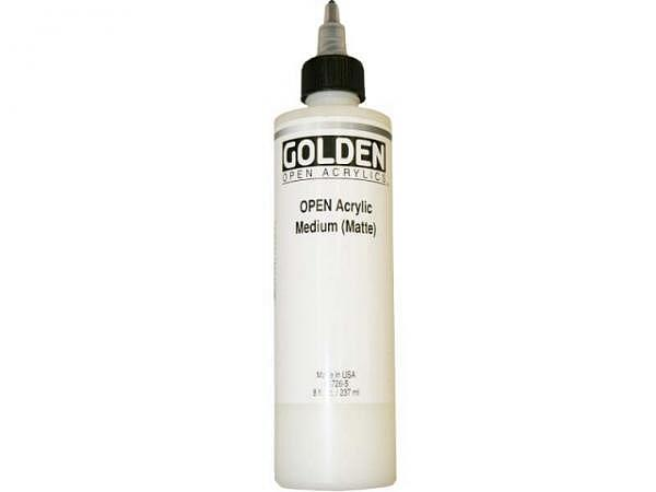 Malmittel Golden Open Medium (Matte) Flasche 237ml
