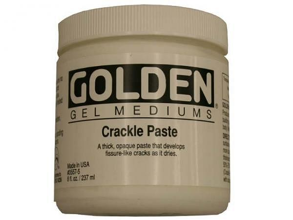 Malmittel Golden Crackle Paste Dose 237ml, dick