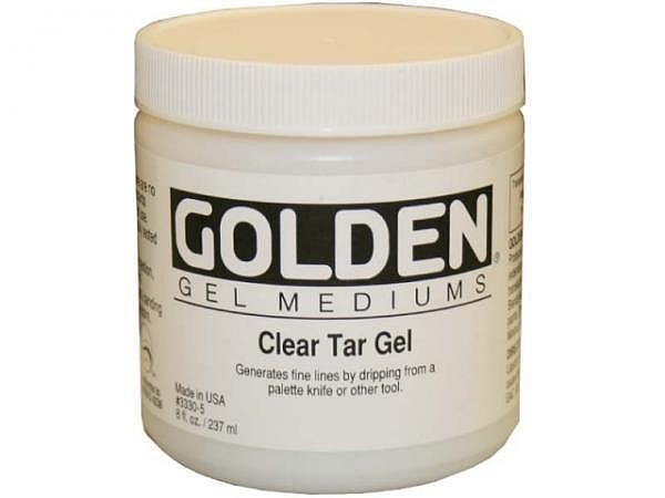 Malmittel Golden Clear Tar Gel Dose 237ml, transparent