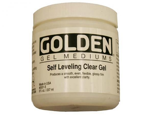 Malmittel Golden Self Leveling Clear Gel Dose 237ml