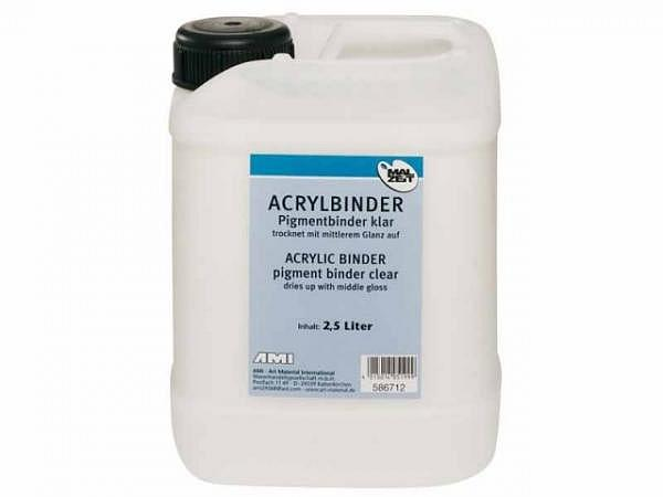 Malmittel Malzeit Acrylbinder 2,5l Herstellung  Akrylfarben